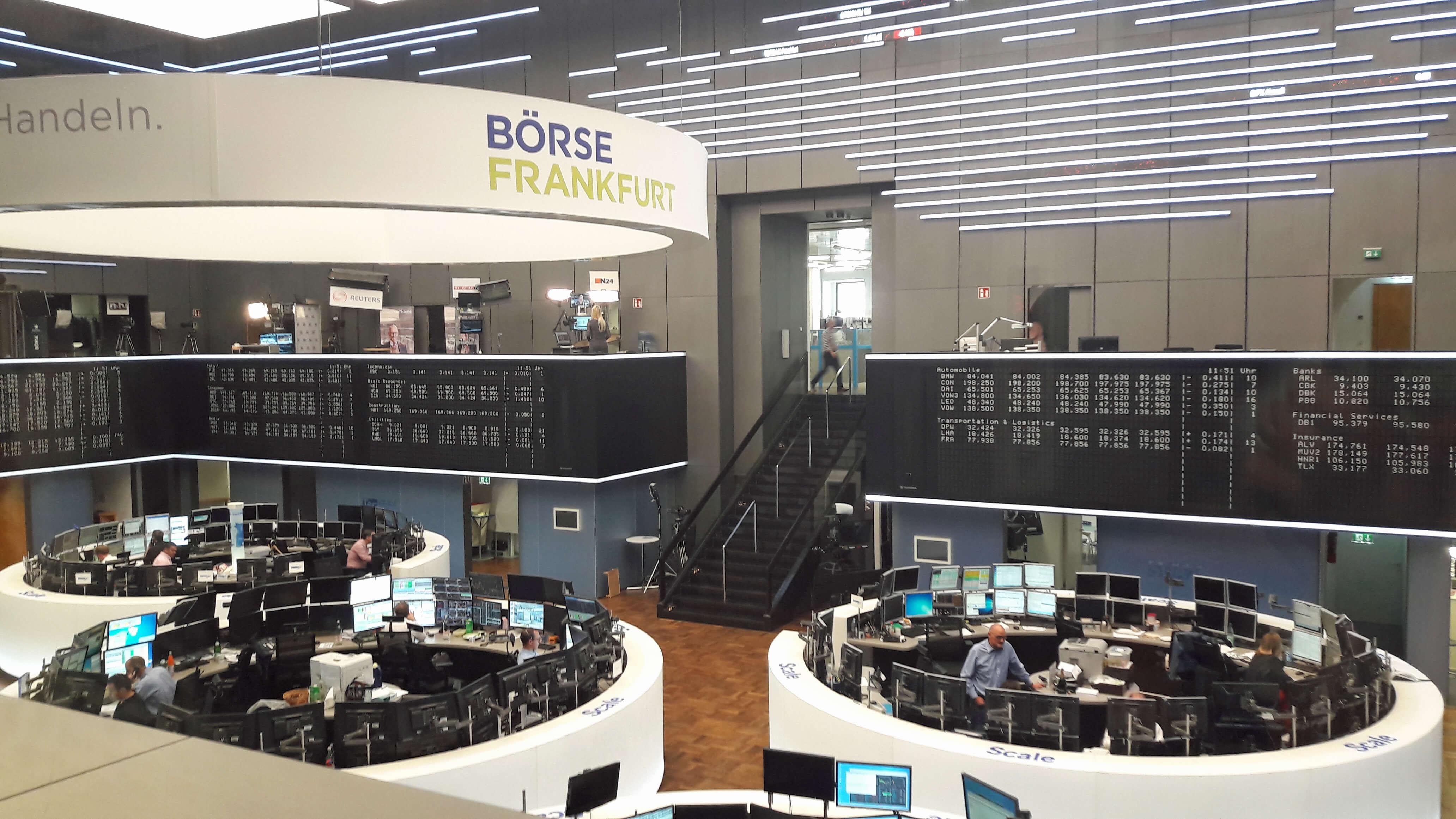 Gar nicht so turbulent wie gedacht: Die Börse.