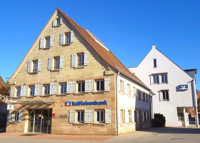 Anna-Lenas Ausbildungsstelle, die Raiffeisenbank Roth-Schwabach eG.