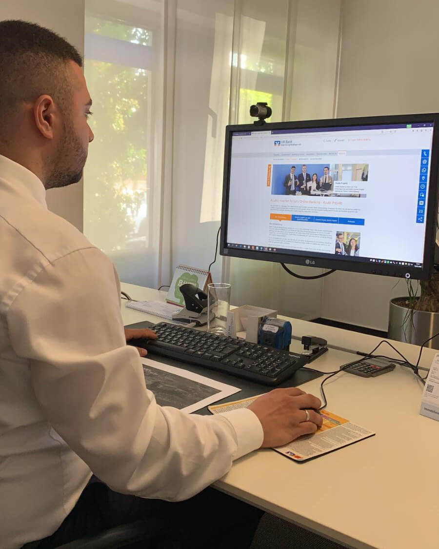 Azubiprojekt Online Banking